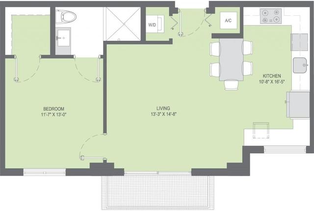 1 Bedroom, South Bay Estates Rental in Miami, FL for $1,862 - Photo 1