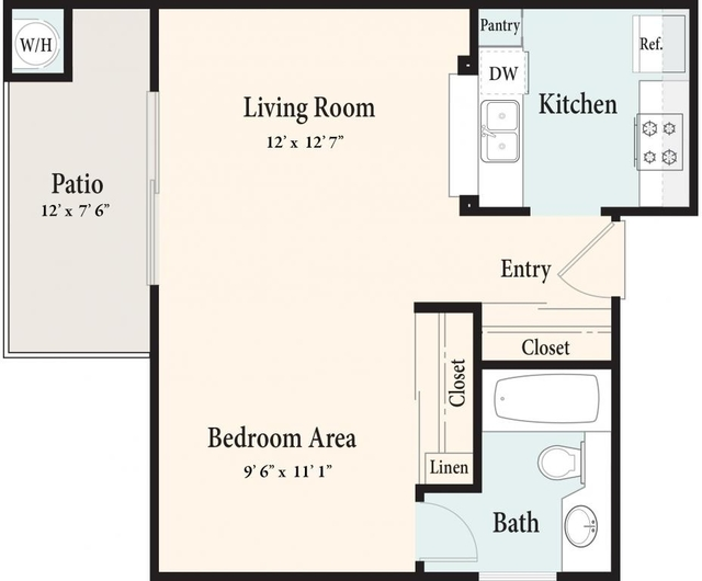 3 Bedrooms, Terra Vista Rental in Los Angeles, CA for $2,167 - Photo 1