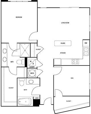 1 Bedroom, Central Houston Rental in Houston for $1,230 - Photo 2