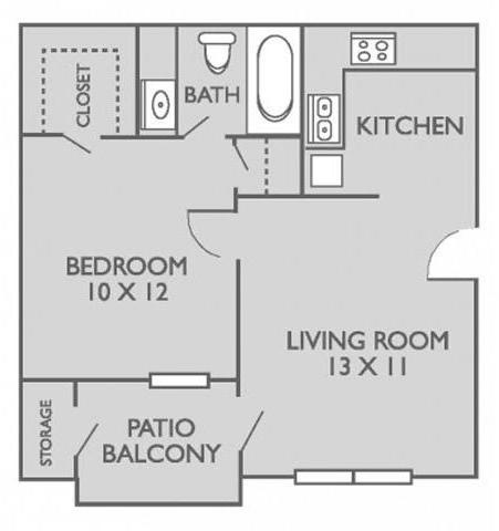 1 Bedroom, Waxahachie Rental in Dallas for $835 - Photo 1