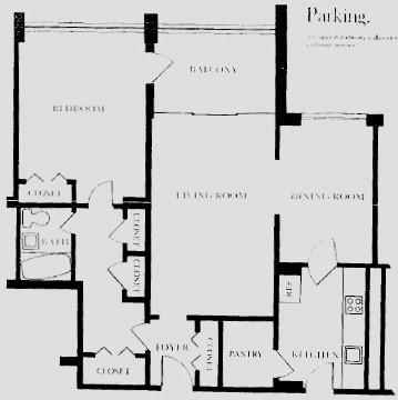 1 Bedroom, Peachtree Center Rental in Atlanta, GA for $1,700 - Photo 2