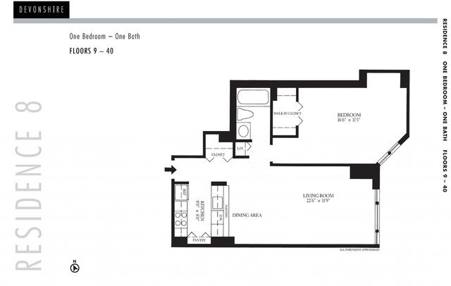 1 Bedroom, Downtown Boston Rental in Boston, MA for $3,800 - Photo 2