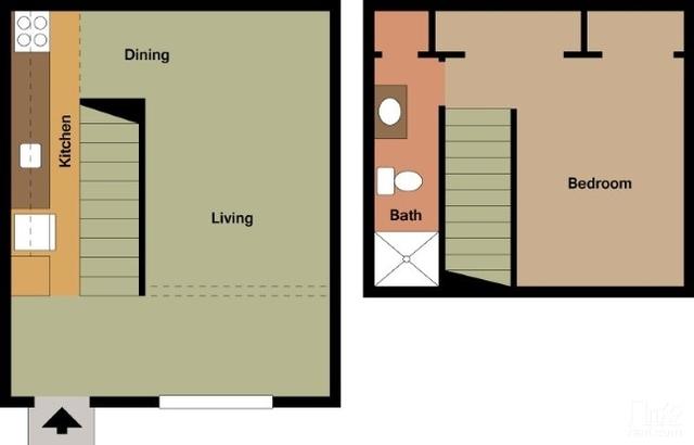 1 Bedroom, Arlington Rental in Dallas for $769 - Photo 1