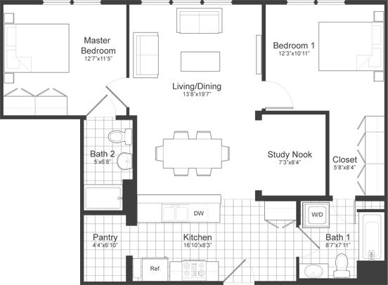 2 Bedrooms, Neighborhood Nine Rental in Boston, MA for $3,350 - Photo 2