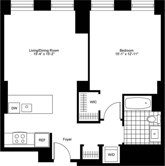 1 Bedroom, Bay Village Rental in Boston, MA for $4,100 - Photo 2