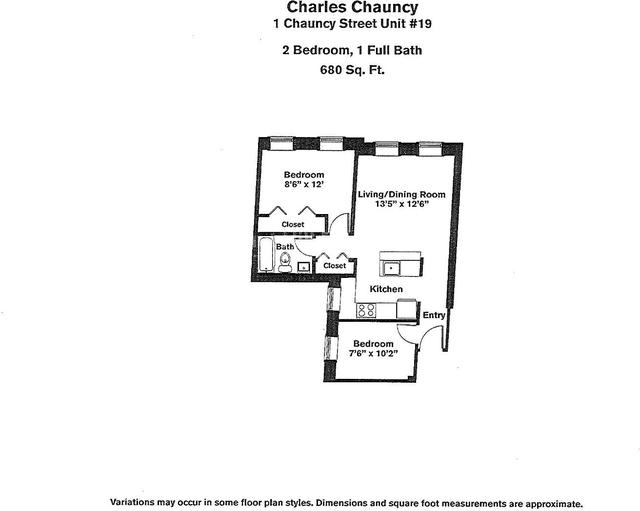 2 Bedrooms, Neighborhood Nine Rental in Boston, MA for $2,795 - Photo 2