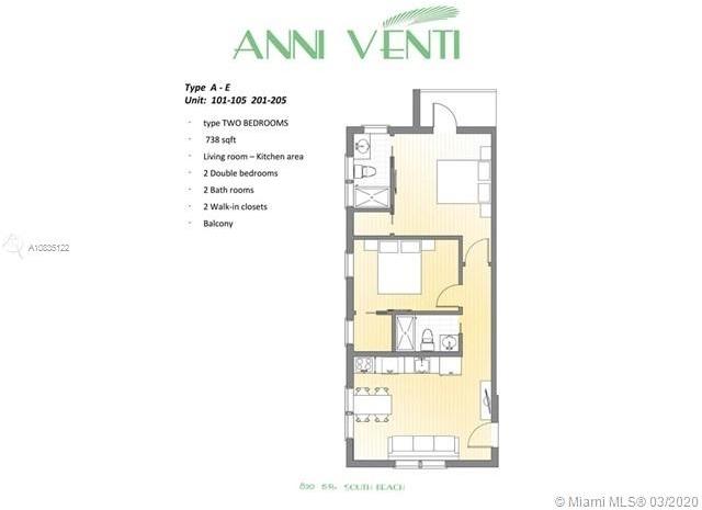 2 Bedrooms, Espanola Villas Rental in Miami, FL for $1,900 - Photo 2