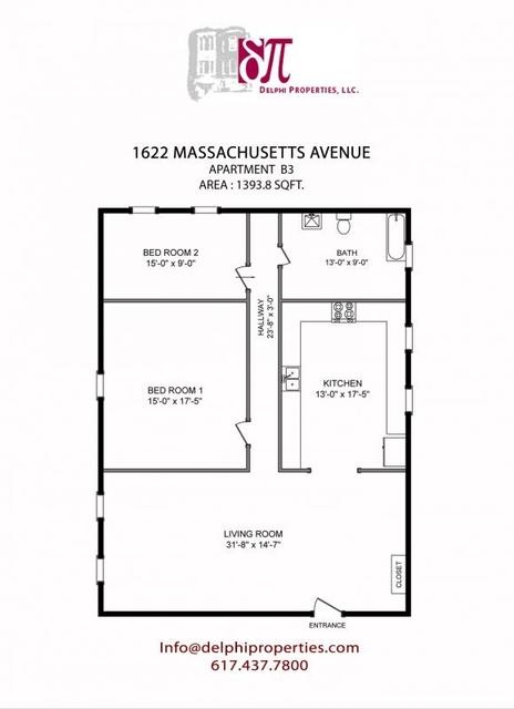 2 Bedrooms, Neighborhood Nine Rental in Boston, MA for $2,600 - Photo 1