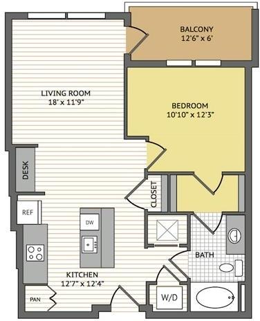 1 Bedroom, Midtown Rental in Atlanta, GA for $1,890 - Photo 1