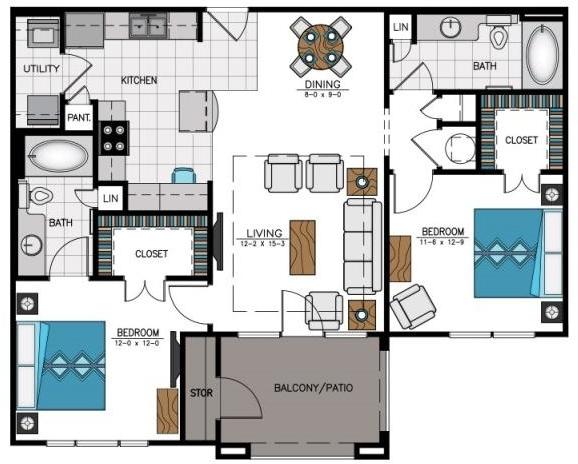 2 Bedrooms, Duluth Rental in Atlanta, GA for $1,559 - Photo 1