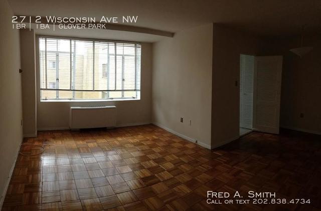 1 Bedroom, Glover Park Rental in Washington, DC for $1,650 - Photo 2