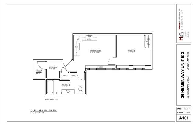 1 Bedroom, Fenway Rental in Boston, MA for $2,395 - Photo 1