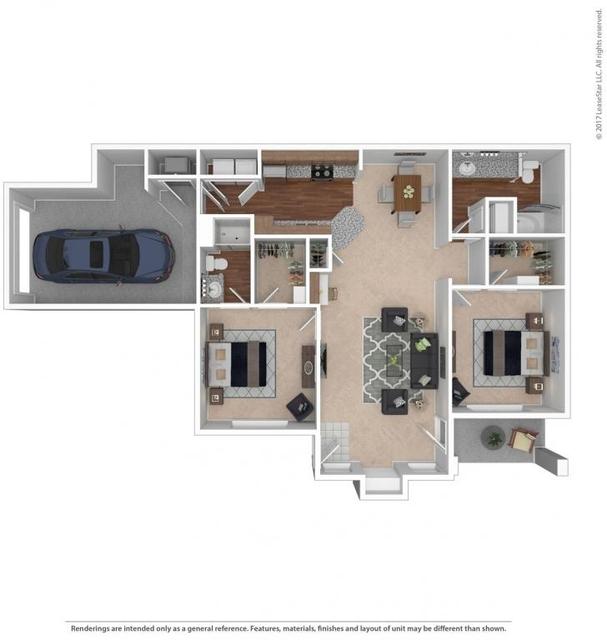 2 Bedrooms, Jefferson Pointe Rental in Kansas City, MO-KS for $1,260 - Photo 1