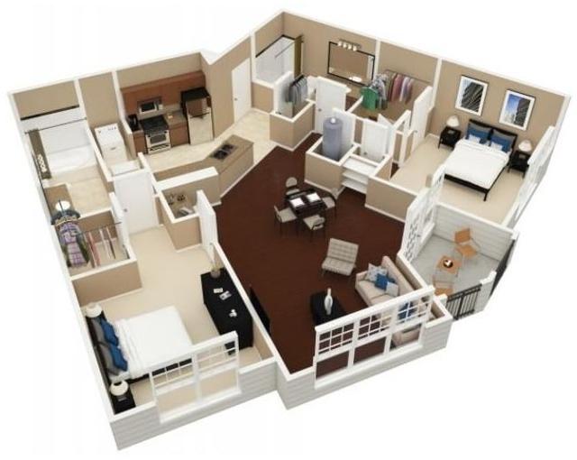 1 Bedroom, Brookwood Rental in Atlanta, GA for $1,355 - Photo 1