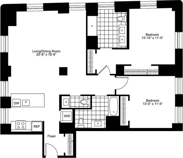 2 Bedrooms, Bay Village Rental in Boston, MA for $7,125 - Photo 2