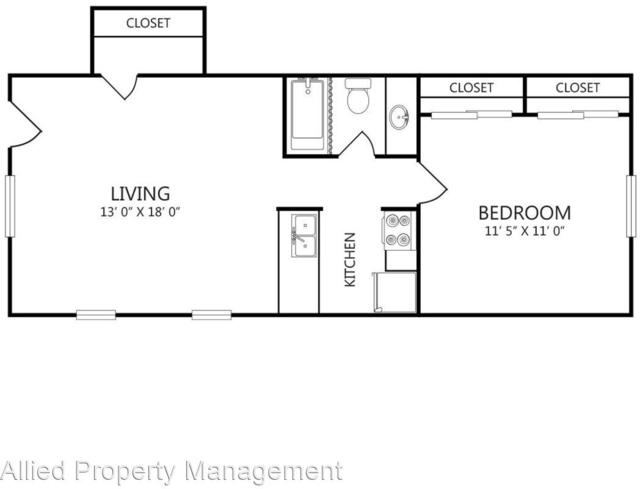1 Bedroom, Webb Chapel Park Rental in Dallas for $815 - Photo 1