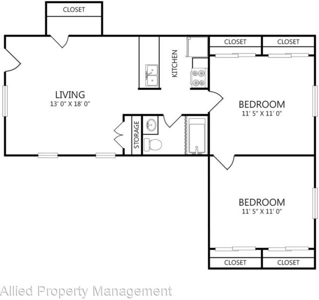 2 Bedrooms, Webb Chapel Park Rental in Dallas for $1,010 - Photo 1