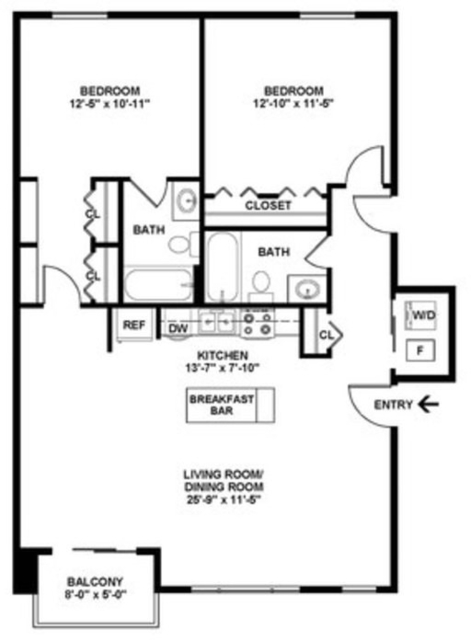 2 Bedrooms, Ravenswood Rental in Chicago, IL for $3,420 - Photo 2