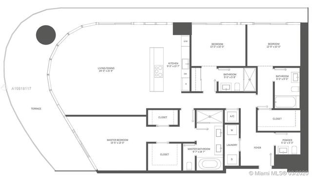 3 Bedrooms, Miami Financial District Rental in Miami, FL for $8,100 - Photo 2