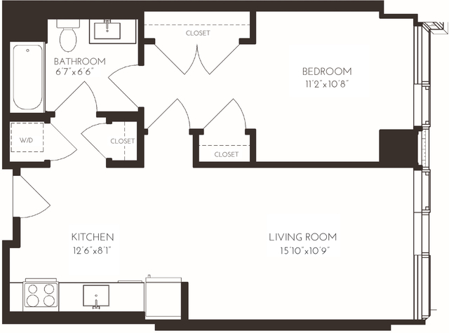 1 Bedroom, Seaport District Rental in Boston, MA for $4,467 - Photo 2