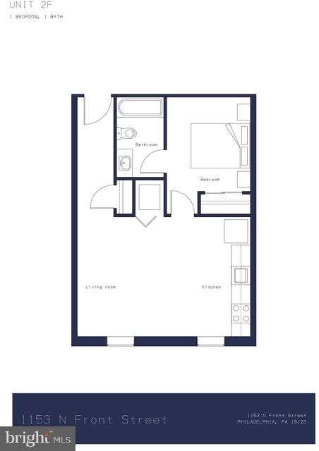 1 Bedroom, Northern Liberties - Fishtown Rental in Philadelphia, PA for $1,525 - Photo 1