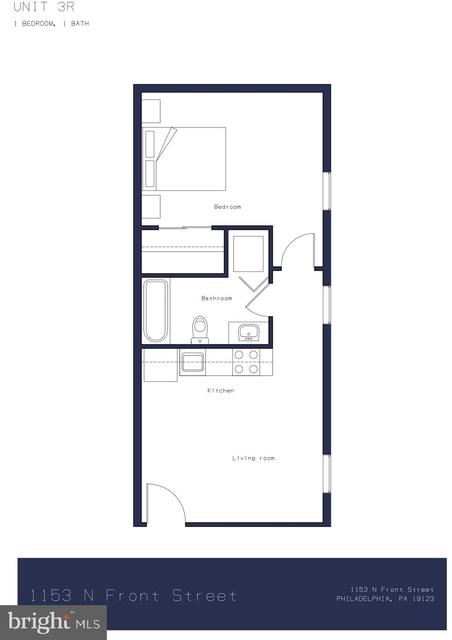 1 Bedroom, Northern Liberties - Fishtown Rental in Philadelphia, PA for $1,625 - Photo 1