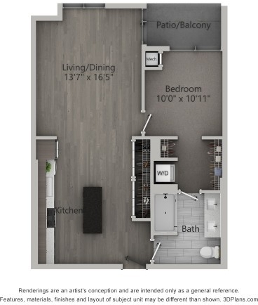 1 Bedroom, Fulton Market Rental in Chicago, IL for $2,611 - Photo 1