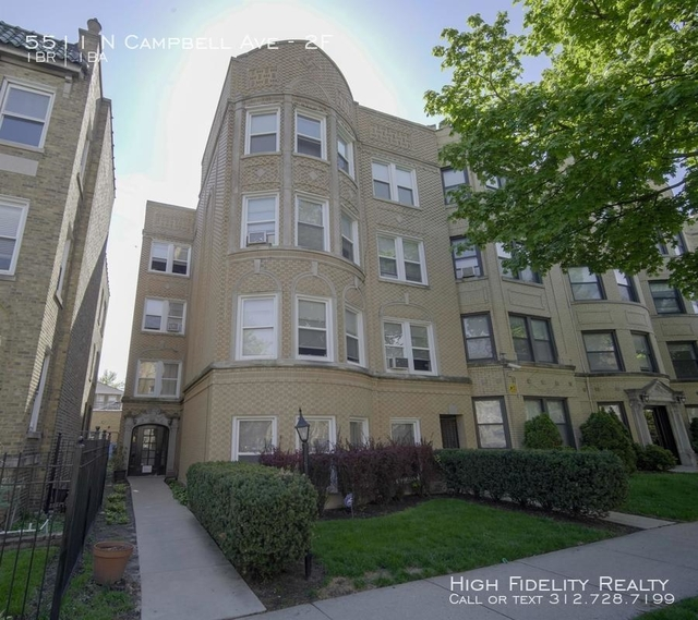 1 Bedroom, Budlong Woods Rental in Chicago, IL for $1,195 - Photo 1