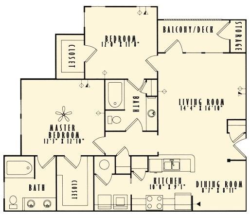2 Bedrooms, East Cobb Rental in Atlanta, GA for $1,395 - Photo 1
