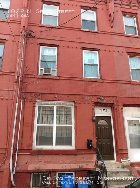 5 Bedrooms, North Philadelphia West Rental in Philadelphia, PA for $2,125 - Photo 1