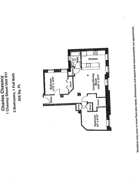 2 Bedrooms, Neighborhood Nine Rental in Boston, MA for $3,155 - Photo 2