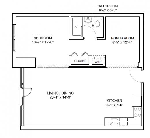 1 Bedroom, Medford Street - The Neck Rental in Boston, MA for $2,819 - Photo 2