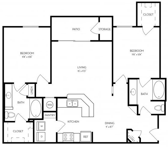 2 Bedrooms, Southwest Atlanta Rental in Atlanta, GA for $1,100 - Photo 2