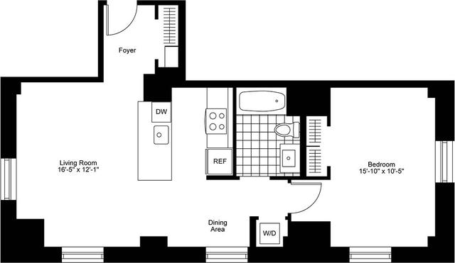 1 Bedroom, Bay Village Rental in Boston, MA for $4,375 - Photo 2