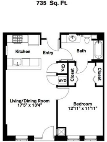 1 Bedroom, Kenmore Rental in Boston, MA for $2,879 - Photo 2