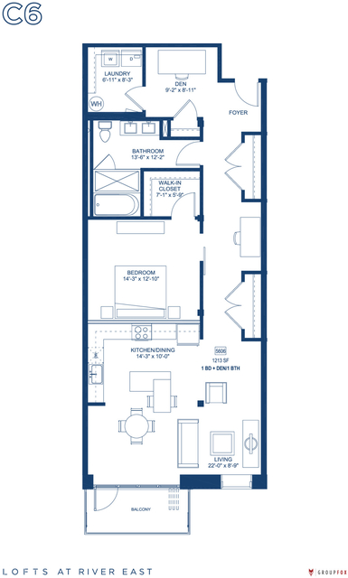 1 Bedroom, Streeterville Rental in Chicago, IL for $3,505 - Photo 1