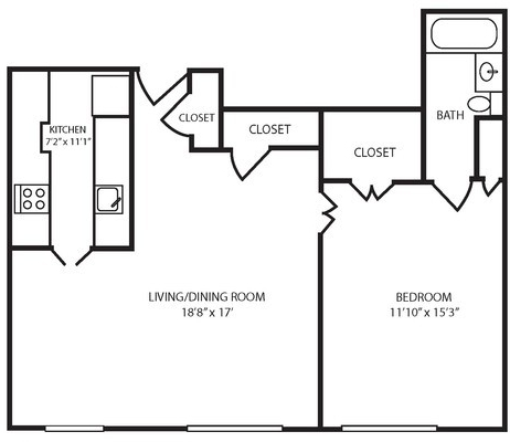 1 Bedroom, Gold Coast Rental in Chicago, IL for $3,142 - Photo 2