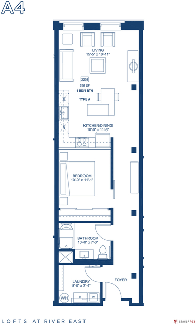 1 Bedroom, Streeterville Rental in Chicago, IL for $2,550 - Photo 1