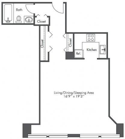 Studio, West Loop Rental in Chicago, IL for $1,525 - Photo 2