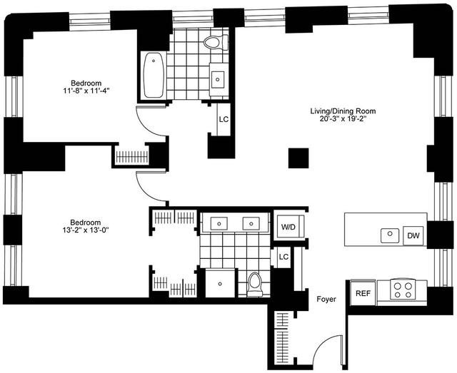 2 Bedrooms, Bay Village Rental in Boston, MA for $6,255 - Photo 2