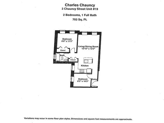 2 Bedrooms, Neighborhood Nine Rental in Boston, MA for $2,955 - Photo 1