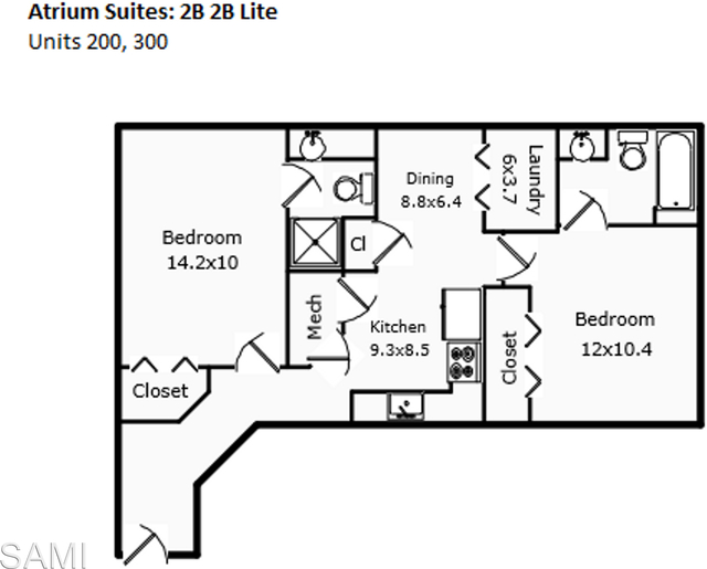 2 Bedrooms, University North Rental in Fort Collins, CO for $1,195 - Photo 1