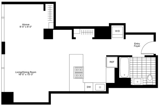 1 Bedroom, Streeterville Rental in Chicago, IL for $2,345 - Photo 2