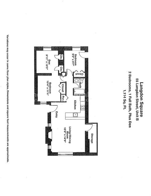 2 Bedrooms, Neighborhood Nine Rental in Boston, MA for $2,995 - Photo 1