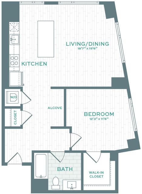 1 Bedroom, Allston Rental in Boston, MA for $3,792 - Photo 1