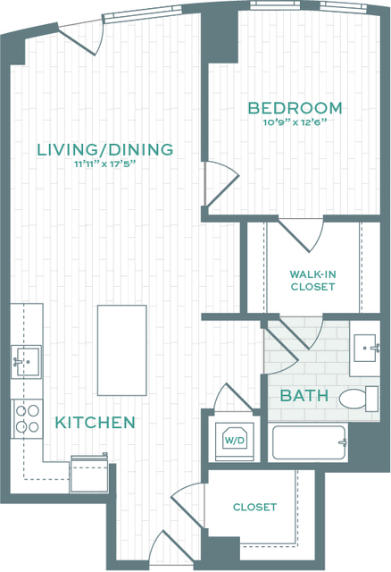 1 Bedroom, Allston Rental in Boston, MA for $3,385 - Photo 1