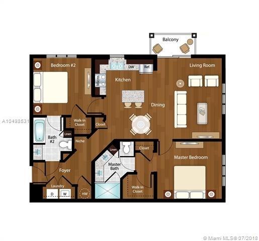 2 Bedrooms, Davie Rental in Miami, FL for $2,107 - Photo 1