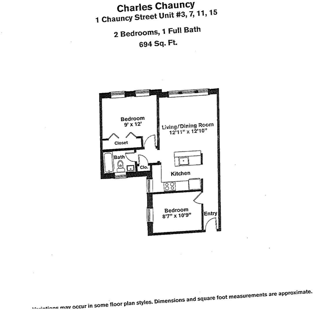 2 Bedrooms, Neighborhood Nine Rental in Boston, MA for $3,140 - Photo 2