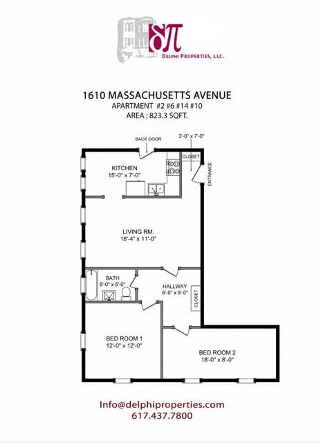2 Bedrooms, Neighborhood Nine Rental in Boston, MA for $2,900 - Photo 2
