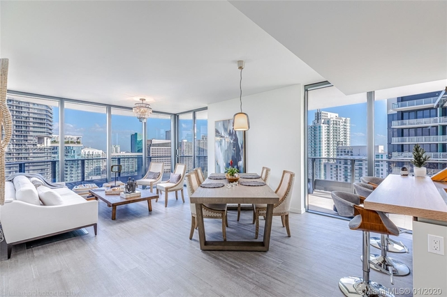 2 Bedrooms, Miami Financial District Rental in Miami, FL for $6,400 - Photo 1
